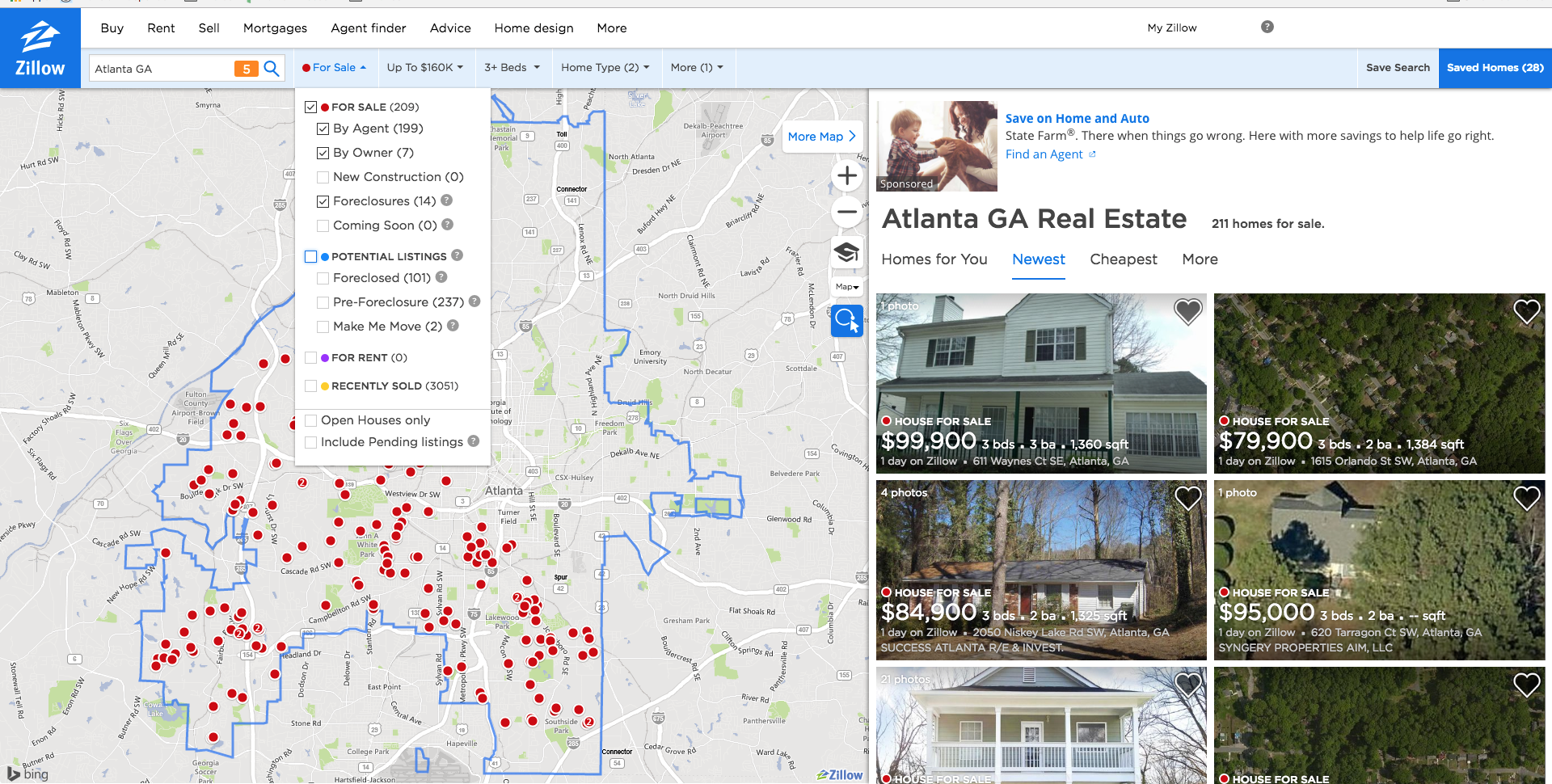 Zillow For Fun & Profit: How to find real estate investments using on zillow aerial view, zillow commercial, bing property map, zillow floor plans,