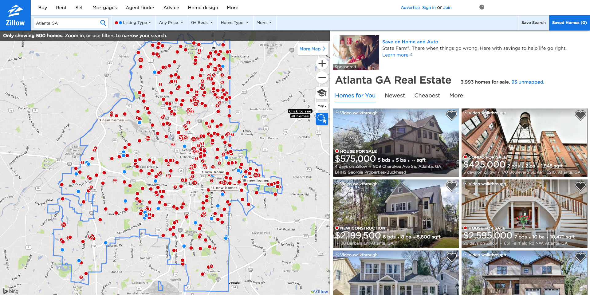 Zillow For Fun & Profit: How to find real estate investments using on home sale map, san jose california map, northern california mission map, old estate lakewood ohio map,