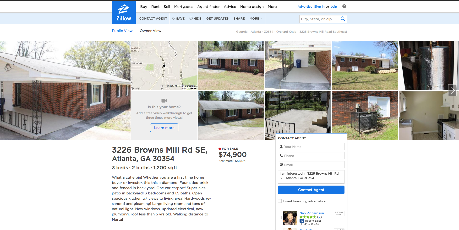 Zillow For Fun & Profit: How to find real estate investments